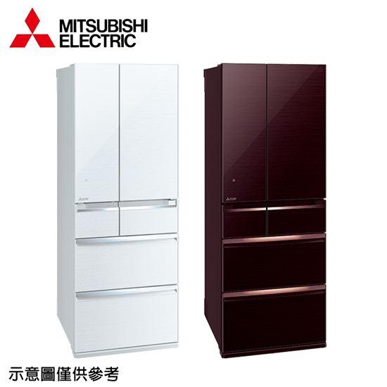 圖片 【結帳享優惠】【MITSUBISHI 三菱】605公升日本原裝變頻六門冰箱MR-WX61C