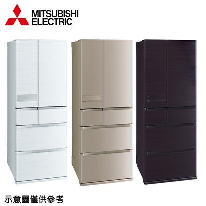 圖片 【結帳享優惠】【MITSUBISHI 三菱】605公升日本原裝變頻六門冰箱MR-JX61C