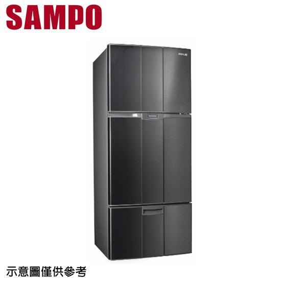 圖片 【SAMPO 聲寶】580公升 定頻三門冰箱 SR-A58GV-S3