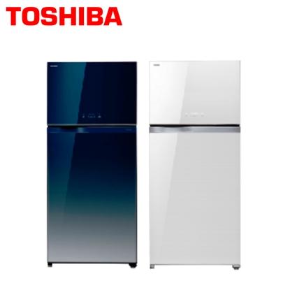 【TOSHIBA東芝】608公升玻璃鏡面變頻雙門冰箱GR-WG66TDZ