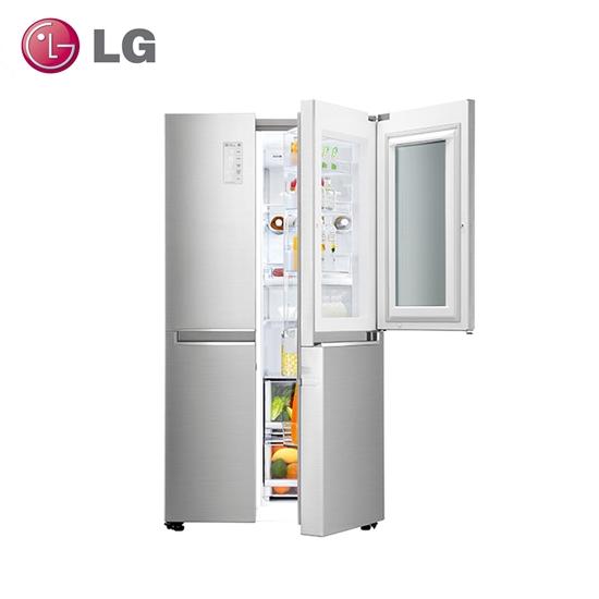 【LG樂金】820公升門中門對開冰箱GR-QL88N(結帳享優惠)