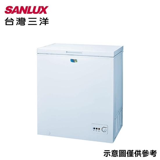 (結帳折)【SANLUX三洋 】145公升冷凍櫃SCF-145M