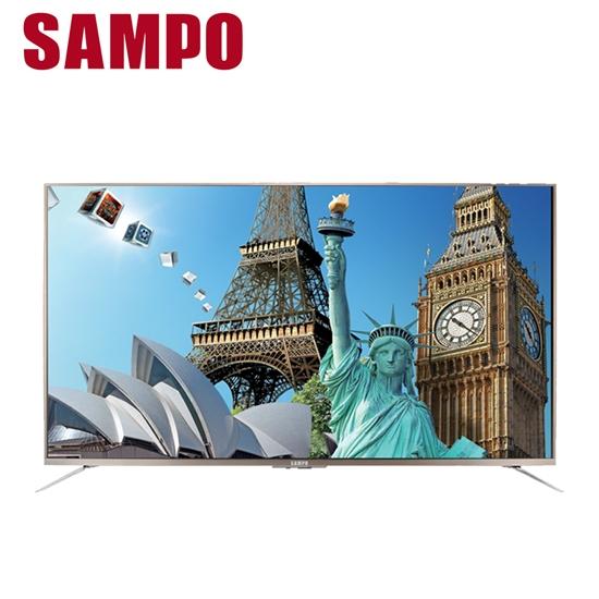 圖片 【SAMPO聲寶】65吋4K液晶顯示器EM-65ZT30D(只送不裝)