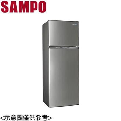 【SAMPO聲寶】250公升 變頻雙門冰箱 SR-A25D-G