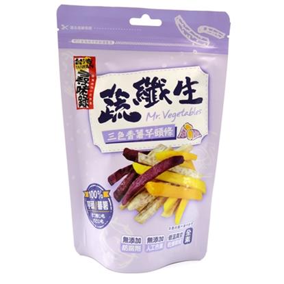 【喜仕嘉】三色香薯芋頭條90g*6包
