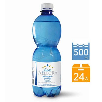 亞莉佳氣泡礦泉水500ml(24罐/組)