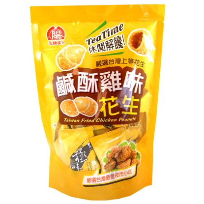 【生機達人】鹽酥雞味花生180G(6包/組)