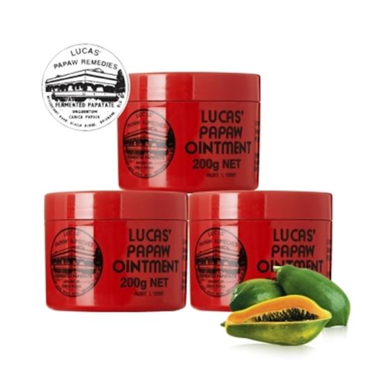 圖片 澳洲木瓜霜 Lucas Papaw Ointment 原裝進口正貨 (200g/瓶,共3入)