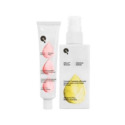 圖片 iNature植維方金盞花金脂修復膏(15g/瓶)+保濕潤膚乳液(185ml/瓶)