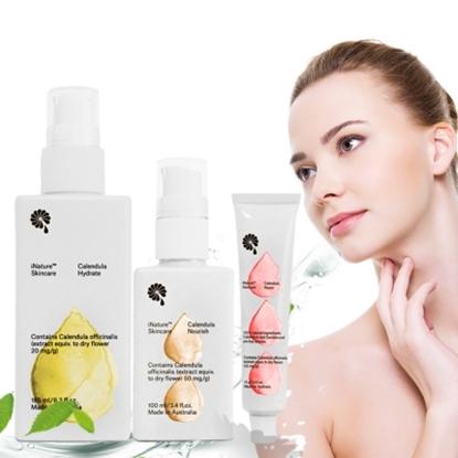 圖片 iNature植維方金盞花護膚系列三件組