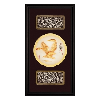 圖片 My Gifts-立體金箔畫-大展鴻圖(圓滿系列27.5x50.5cm)