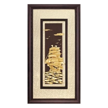 圖片 My Gifts-立體金箔畫-一帆風順(高昇系列42x81cm)