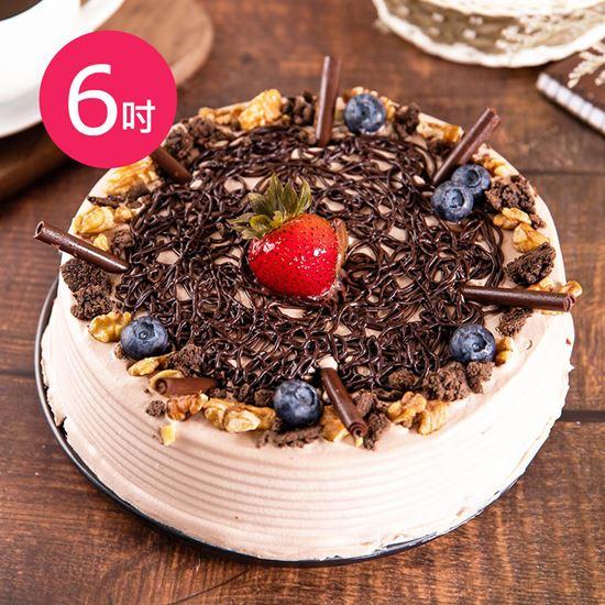 圖片 預購-樂活e棧-生日快樂蛋糕-酸甜巧克比蛋糕(6吋/顆,共1顆)