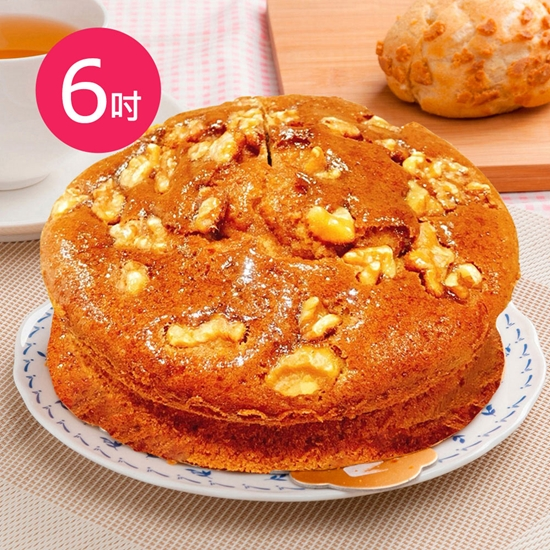 圖片 預購-樂活e棧-生日快樂蛋糕-香蕉核桃蛋糕(6吋/顆,共1顆)