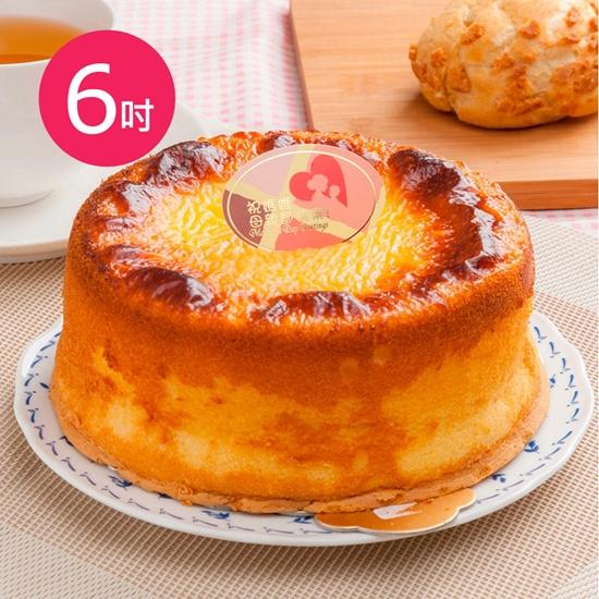 圖片 預購-樂活e棧-生日快樂造型蛋糕-岩燒起司蜂蜜蛋糕(6吋/顆,共1顆)