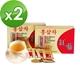 金蔘-6年根韓國高麗紅蔘茶(100包/盒,共2盒)