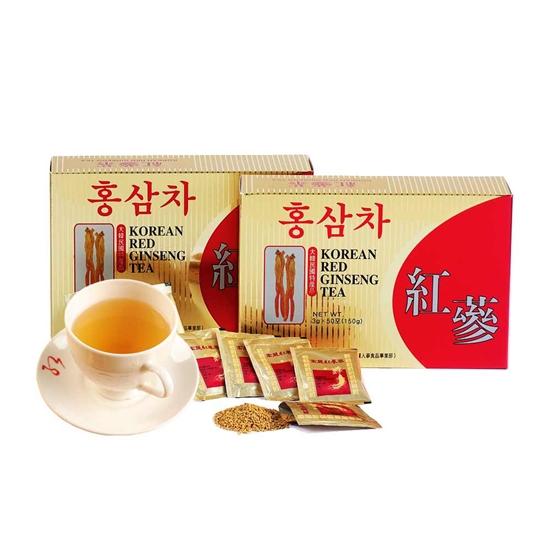 圖片 金蔘-6年根韓國高麗紅蔘茶(100包/盒,共1盒)