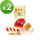 金蔘-6年根韓國高麗紅蔘茶(30包/盒,共2盒)