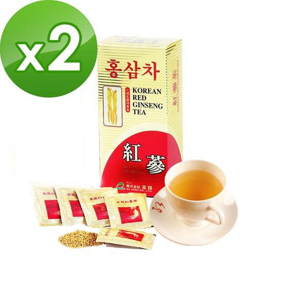 圖片 金蔘-6年根韓國高麗紅蔘茶(30包/盒,共2盒)