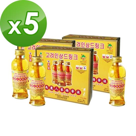 圖片 金蔘-韓國高麗人蔘精華液(120ml*3瓶,共5盒)