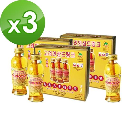 圖片 金蔘-韓國高麗人蔘精華液(120ml*3瓶,共3盒)