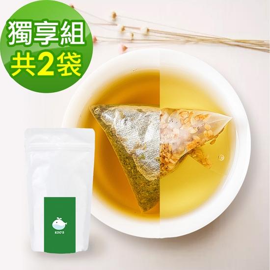 圖片 KOOS-韃靼黃金蕎麥茶+清韻金萱烏龍茶-獨享組各1袋(10包入)
