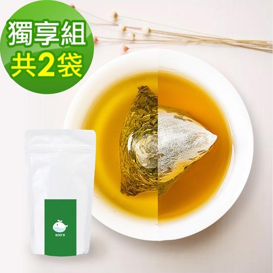 圖片 KOOS-香韻桂花烏龍茶+清韻金萱烏龍茶-獨享組各1袋(10包入)