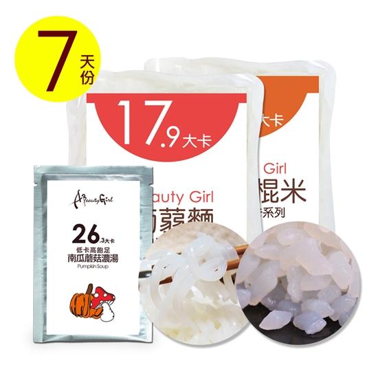 濃湯 蒟蒻米 蒟蒻麵