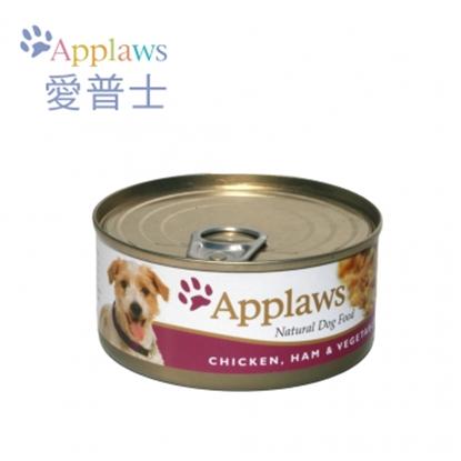 圖片 【APPLAWS 愛普士】全天然狗罐/犬配方(雞柳/火腿/蔬菜)(1箱/16罐)