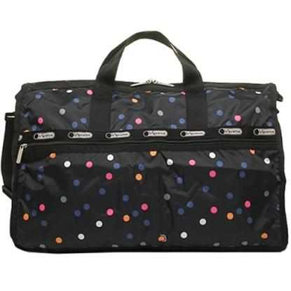 LeSportsac大款假期旅行袋-彩色圓點(現貨+預購)