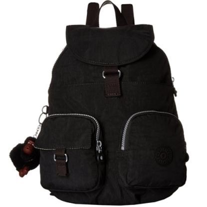 KIPLING FIREFLY BACKPACK 專櫃款後背包/旅行包-黑 (現貨+預購)