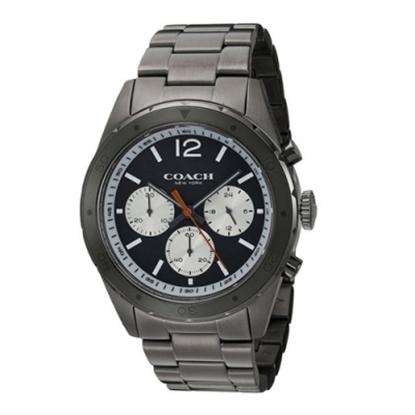 圖片 COACH 三眼不鏽鋼腕錶 (現貨+預購)