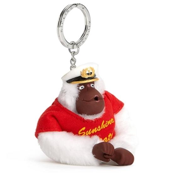 圖片 KIPLING 船長猴子吊飾鑰匙圈 (現貨+預購)