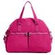 KIPLING 雙口袋造型肩背兩用旅行袋-桃紅 (現貨+預購)