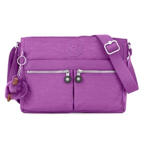 圖片 KIPLING ANGIE 肩背/斜背包-紫色 (現貨+預購)