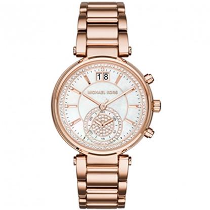 圖片 MICHAEL KORS 兩地時間氣質腕錶-玫瑰金(現貨+預購)
