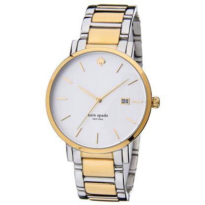 圖片 KATE SPADE 紐約甜心時尚手錶-金 1YRU0108(現貨+預購)