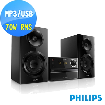 圖片 PHILIPS 飛利浦USB/藍牙超迷你音響 BTM2360/96