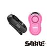 圖片 SABRE沙豹防身警報器 多功能閃光120高分貝隨身警報器 (黑色/粉紅色)【凱騰】