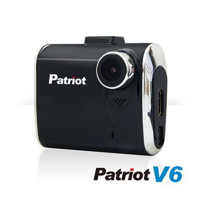圖片 【凱騰】愛國者V6 新一代國民機 1080P 超夜視行車紀錄器(霧黑) 主機內贈16G記憶卡