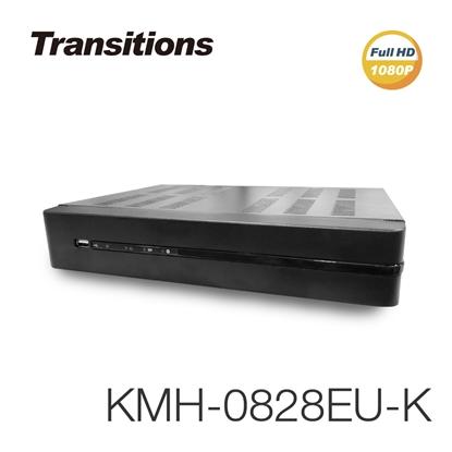 圖片 全視線 KMH-0828EU-K 8路 H.265 1080P HDMI 台灣製造 數位監視監控錄影主機【凱騰】