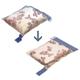【易麗特】真空衣物壓縮收納袋4入超值組-S×1+XL×3