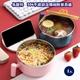 【易麗特】304不鏽鋼泡麵碗附餐具組(1入)