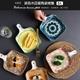 【易麗特】波西米亞風陶瓷烤盤(3入)