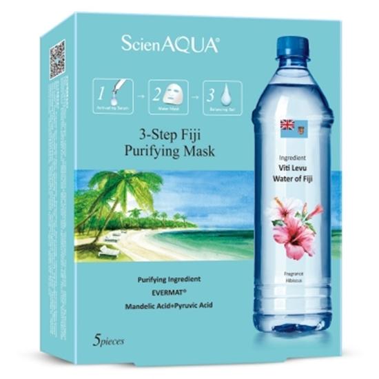 圖片 【ScienAQUA科水】斐濟淨化三部曲面膜 (1盒/5片)*2