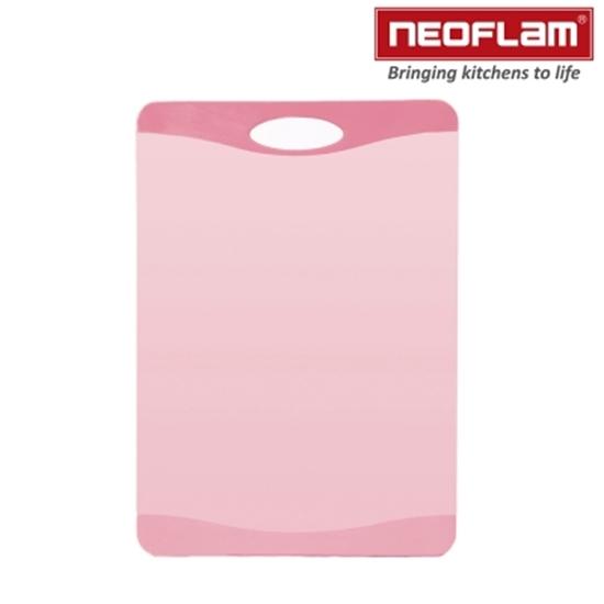 圖片 韓國NEOFLAM-Flutto系列塑膠砧板-粉色(小)