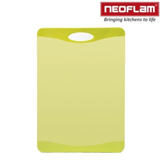 圖片 韓國NEOFLAM-Flutto系列塑膠砧板-綠色(中)