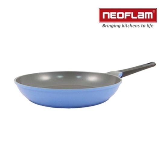圖片 韓國NEOFLAM-Tily系列32cm平底鍋-天空藍