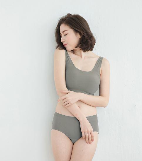 圖片 【SOFT LIGHT】「沁涼無痕」創新隱形貼合內衣-鐵灰