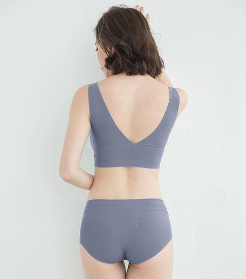 圖片 【SOFT LIGHT】「沁涼無痕」創新隱形貼合內衣-紫色